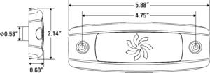 Diagram of 12-LED model
