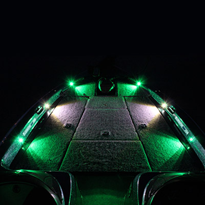 Night blaster deck lighting led system custom boats unlimited extreme pro x6 deck led lighting system aloadofball Image collections