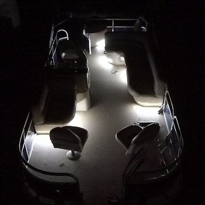 Deluxe Pontoon Boat Interior LED Lighting Kit